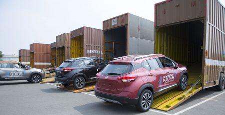 Nissan Kicks Deliveries