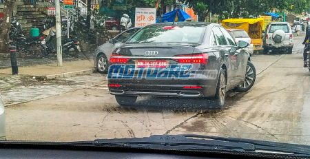 2019 Audi A6 Spied